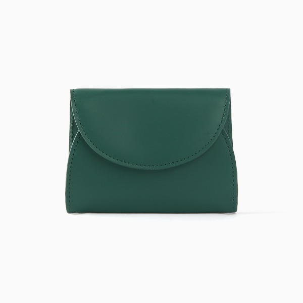REIMS W022 Cover R Pocket wallet Deep Green