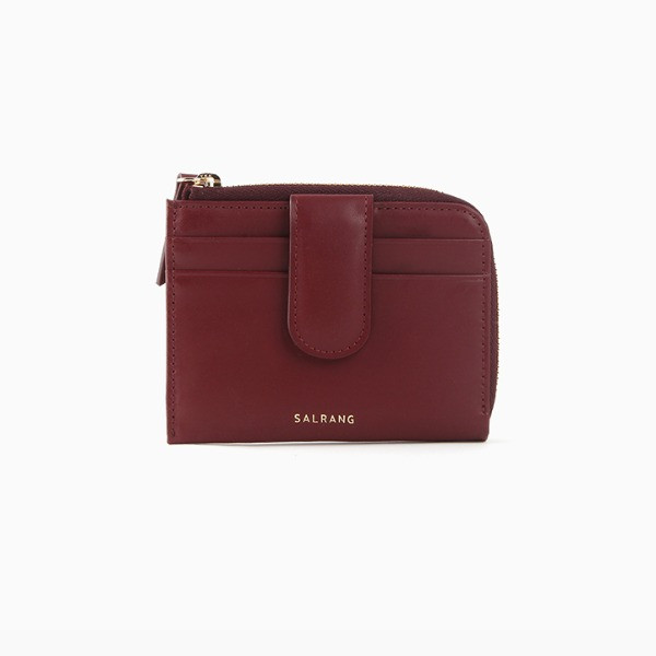 REIMS W024 Easy Pocket Wallet Burgundy